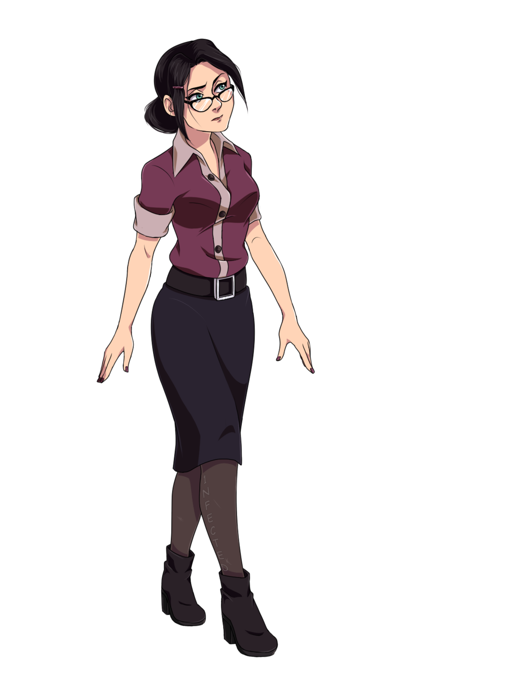 Fortress drawing team. Miss pauling by n