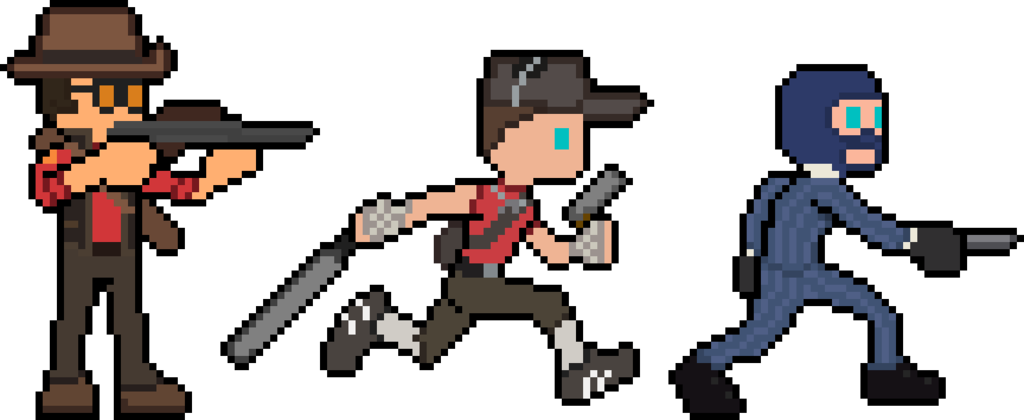tf2 transparent pixel art