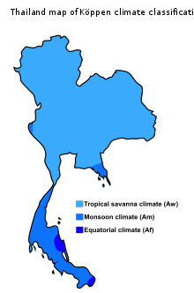 Thailand wikipedia map of