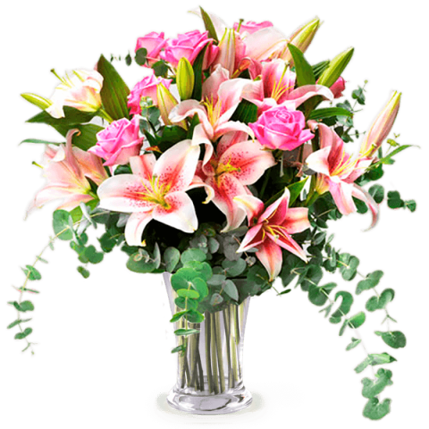 Bouquet vector flower design. Send flowers to say