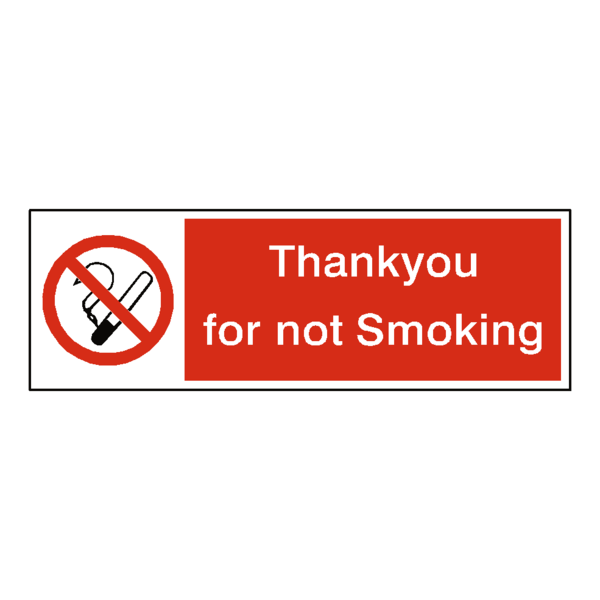 Thank you for smoking vinyl stencils png. No thankyou sticker safety