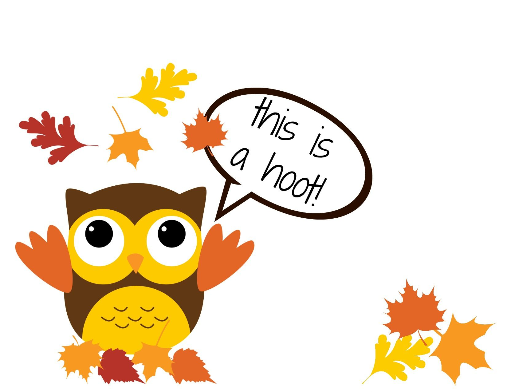 Thankful clipart mama. Printable owl cards honestly
