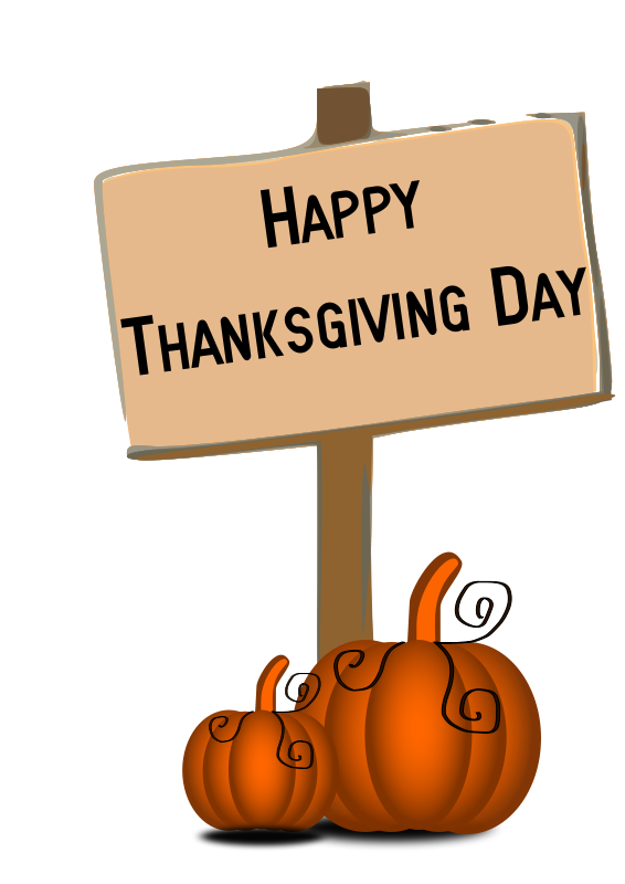 happy thanksgiving clipart free printable