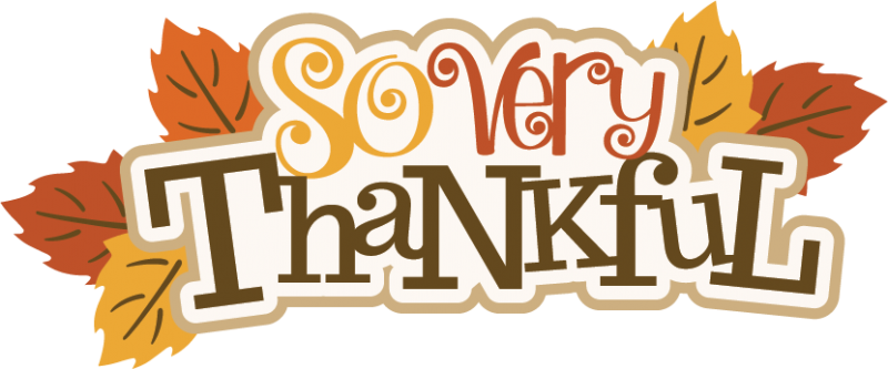 happy thanksgiving clipart thankful