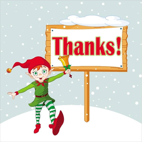 Picture #263246 thanks clipart christmas