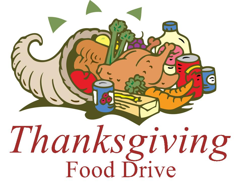 thanks clipart food drive
