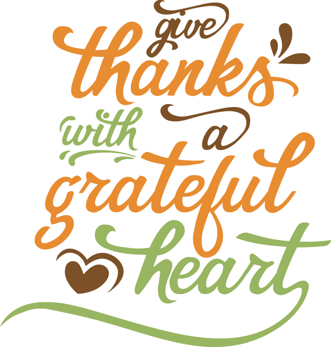 Thanks clipart heart. Give with a grateful