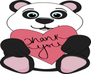 Thanks clipart heart. Thank you free images