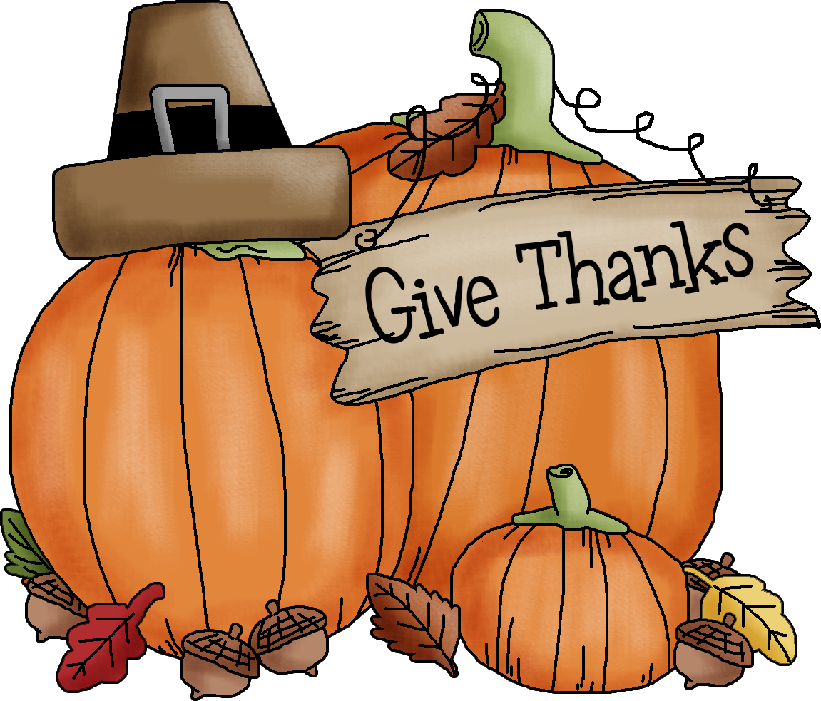 happy thanksgiving clipart wishes