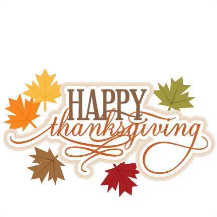 happy thanksgiving png transparent