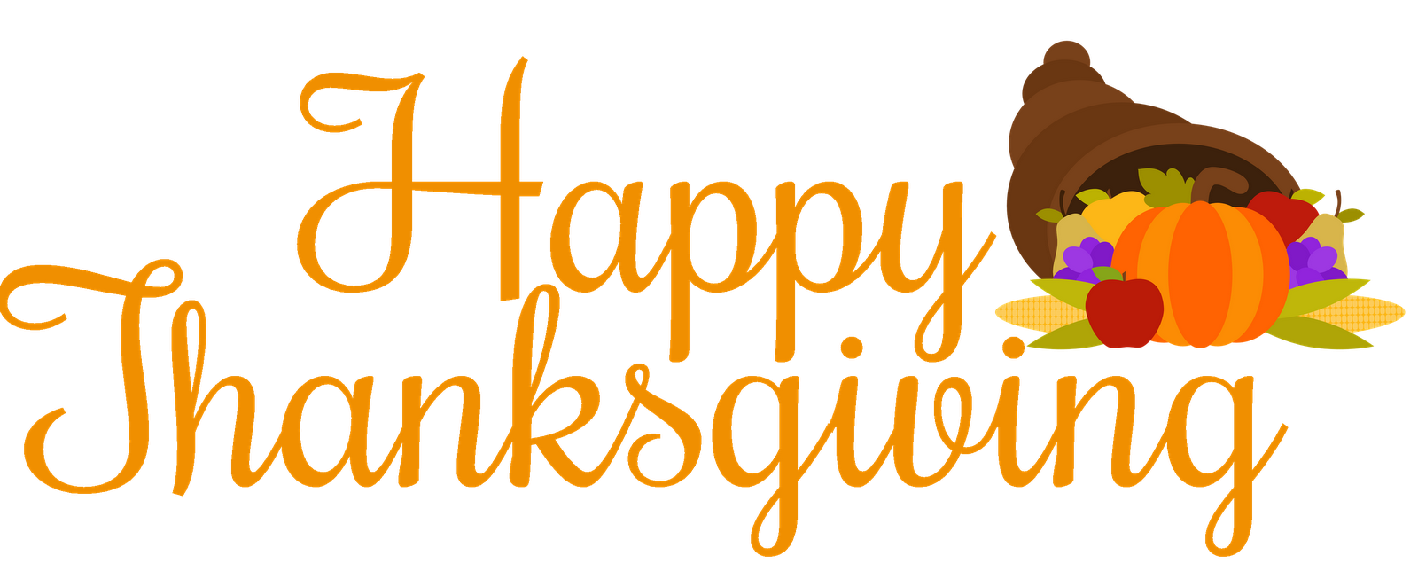 happy thanksgiving clipart cover facebook