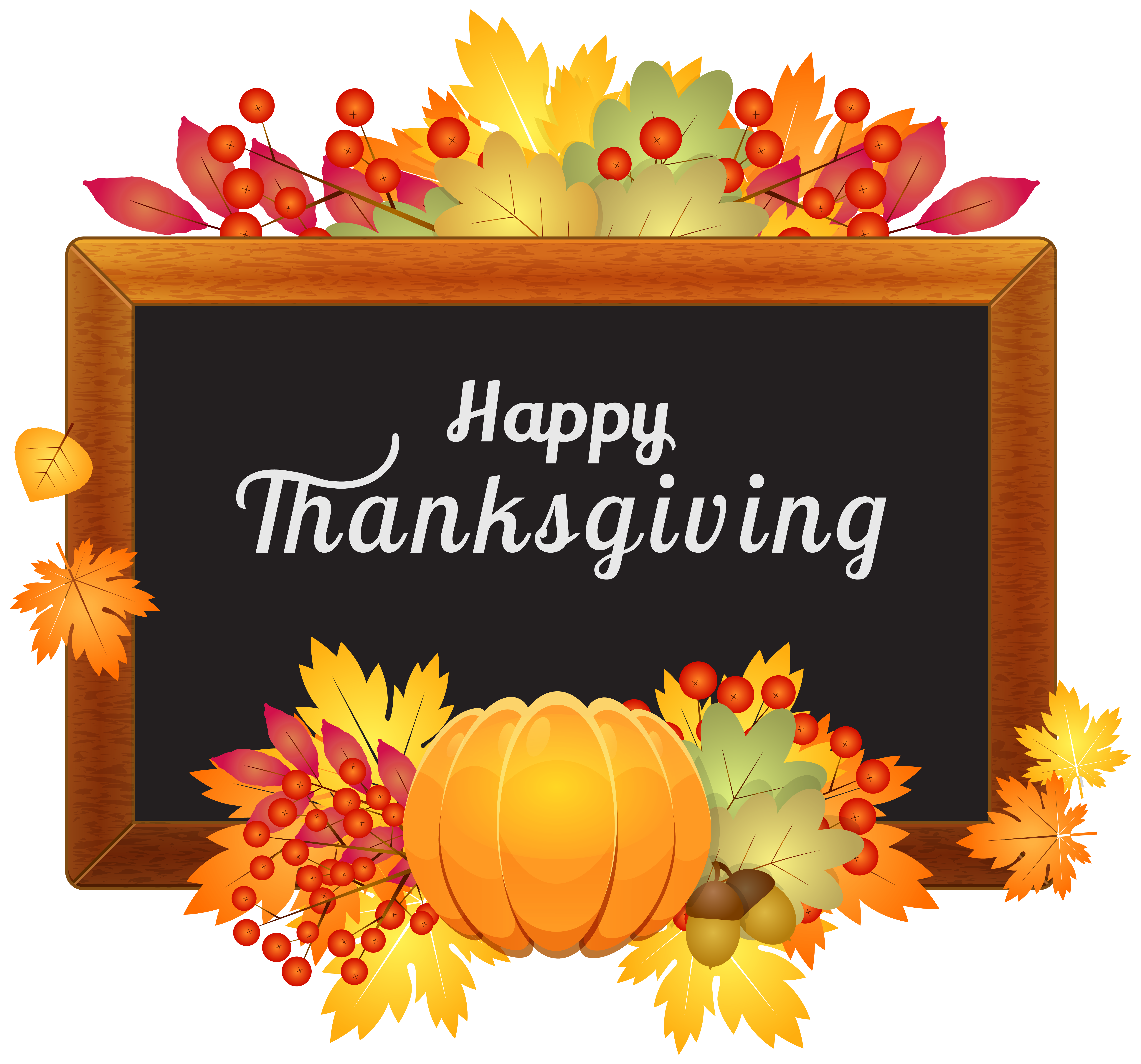 Happy thanksgiving banner png. Decor clipart image gallery