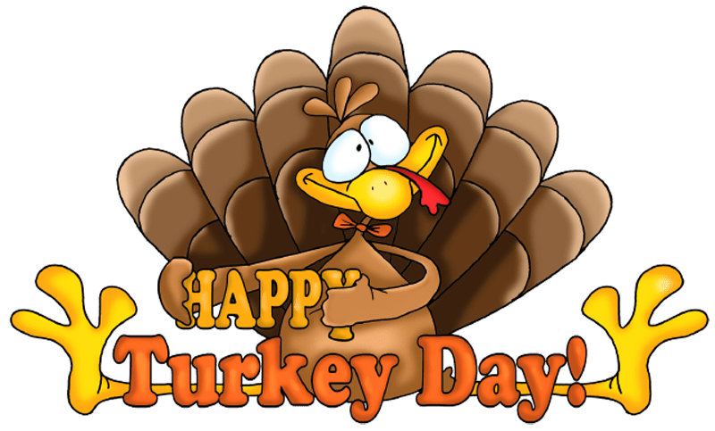 happy thanksgiving clipart animated