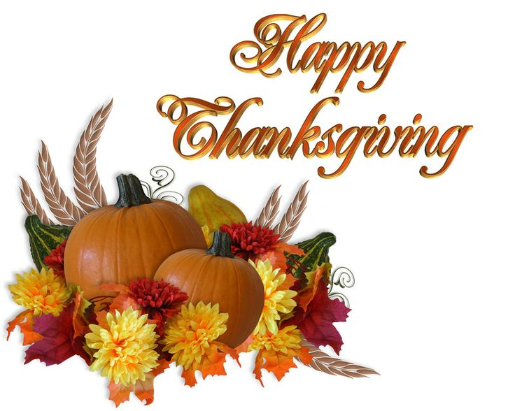 Thanksgiving clipart floral. Happy images free collection