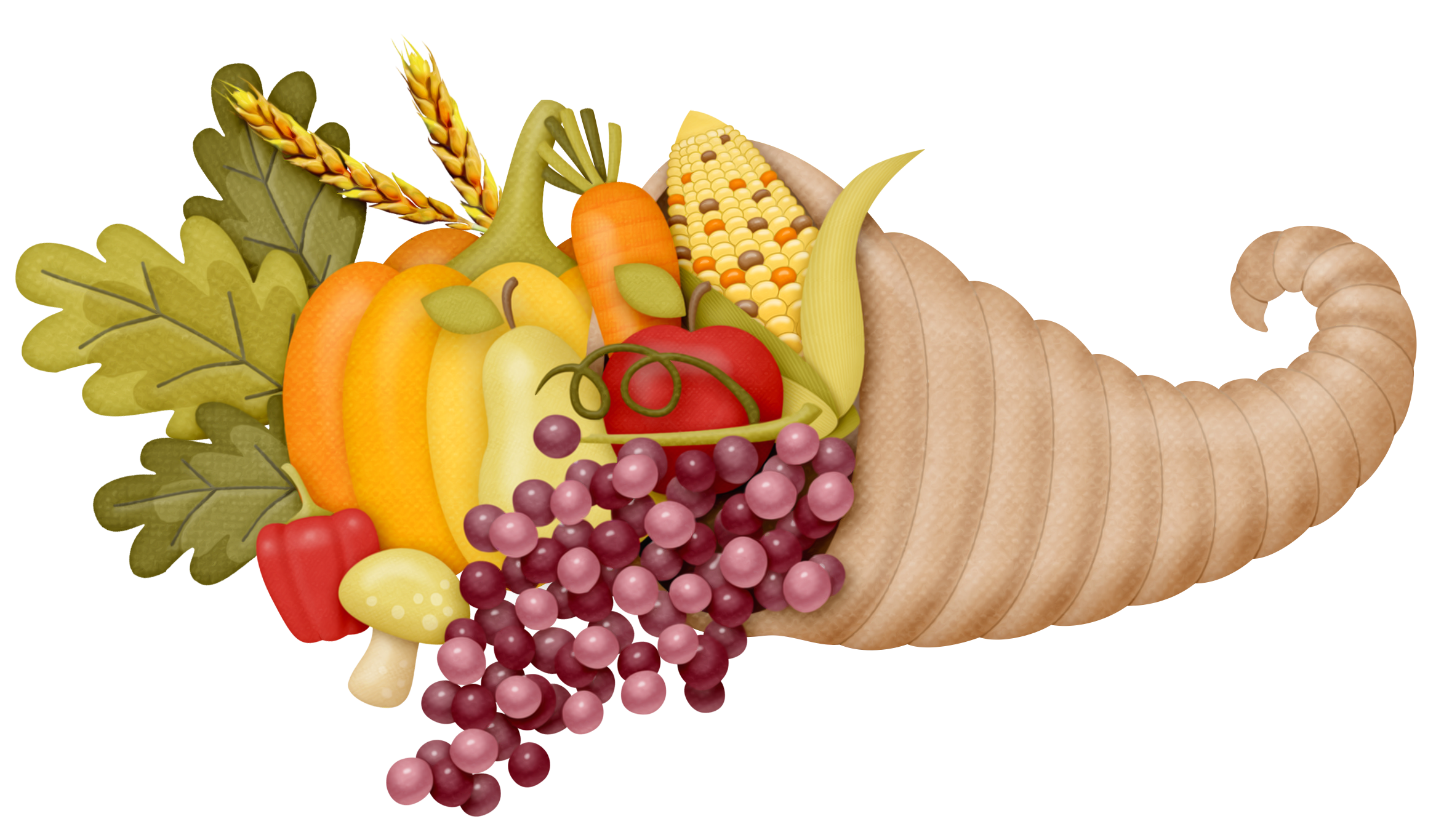 Feast drawing empty cornucopia. Png clipart picture gallery