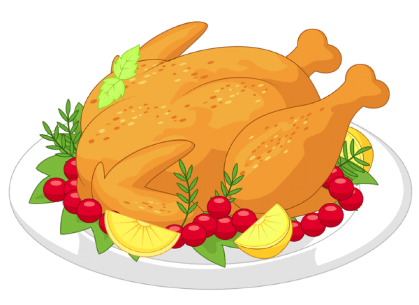 Thanksgiving dinner png. Turkey diner free images