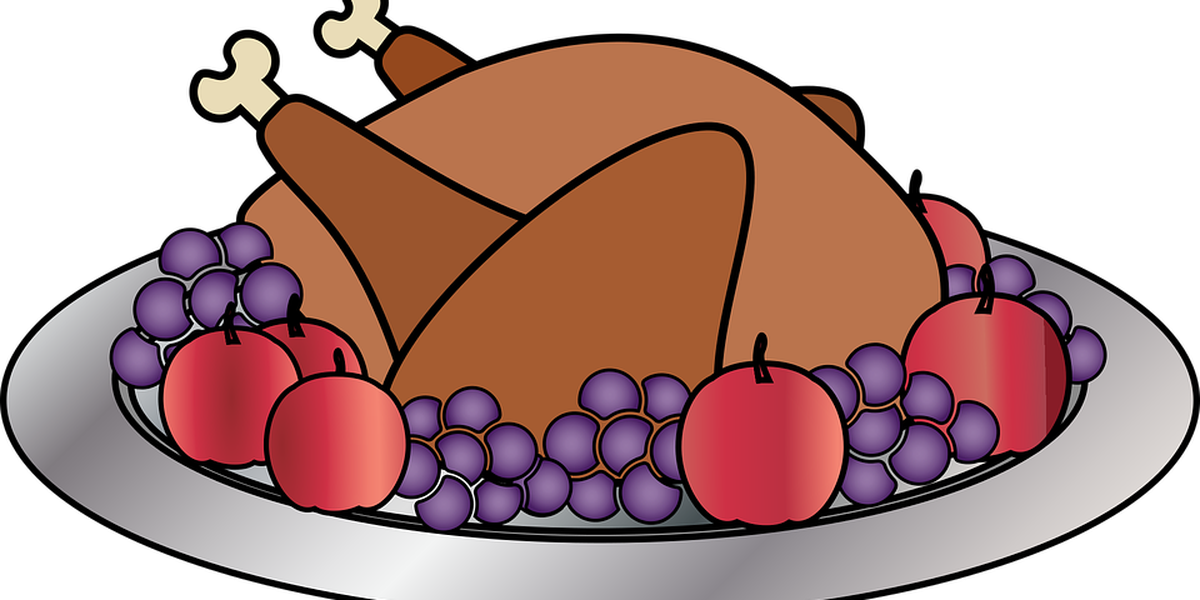 Thanksgiving dinner png. List where you can