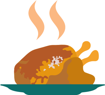 Thanksgiving dinner png. Download image with no