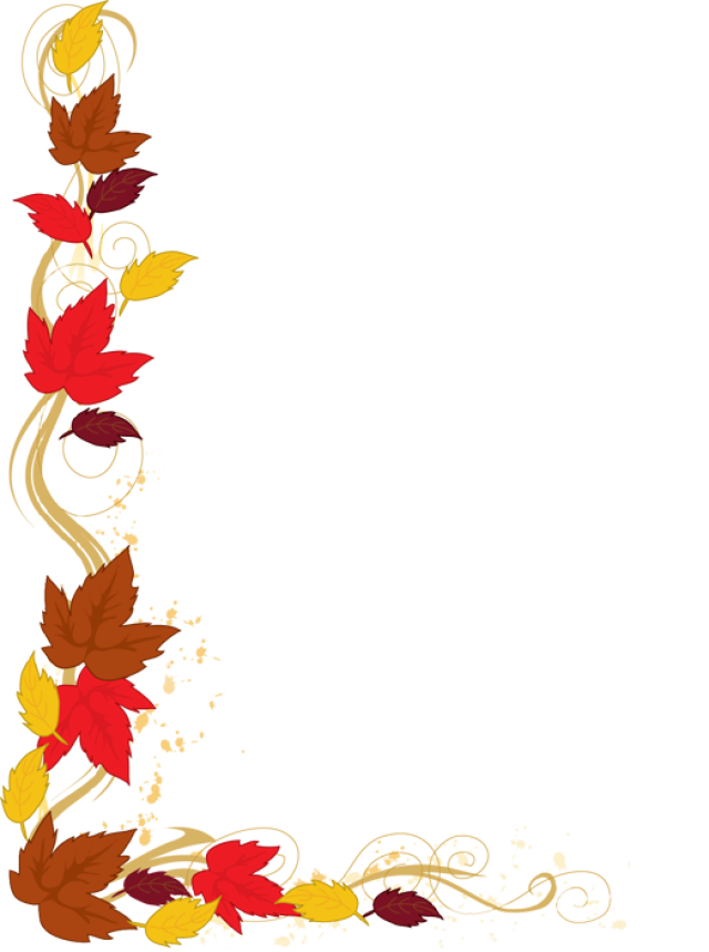 Thanksgiving leaves border png. Web design development pinterest