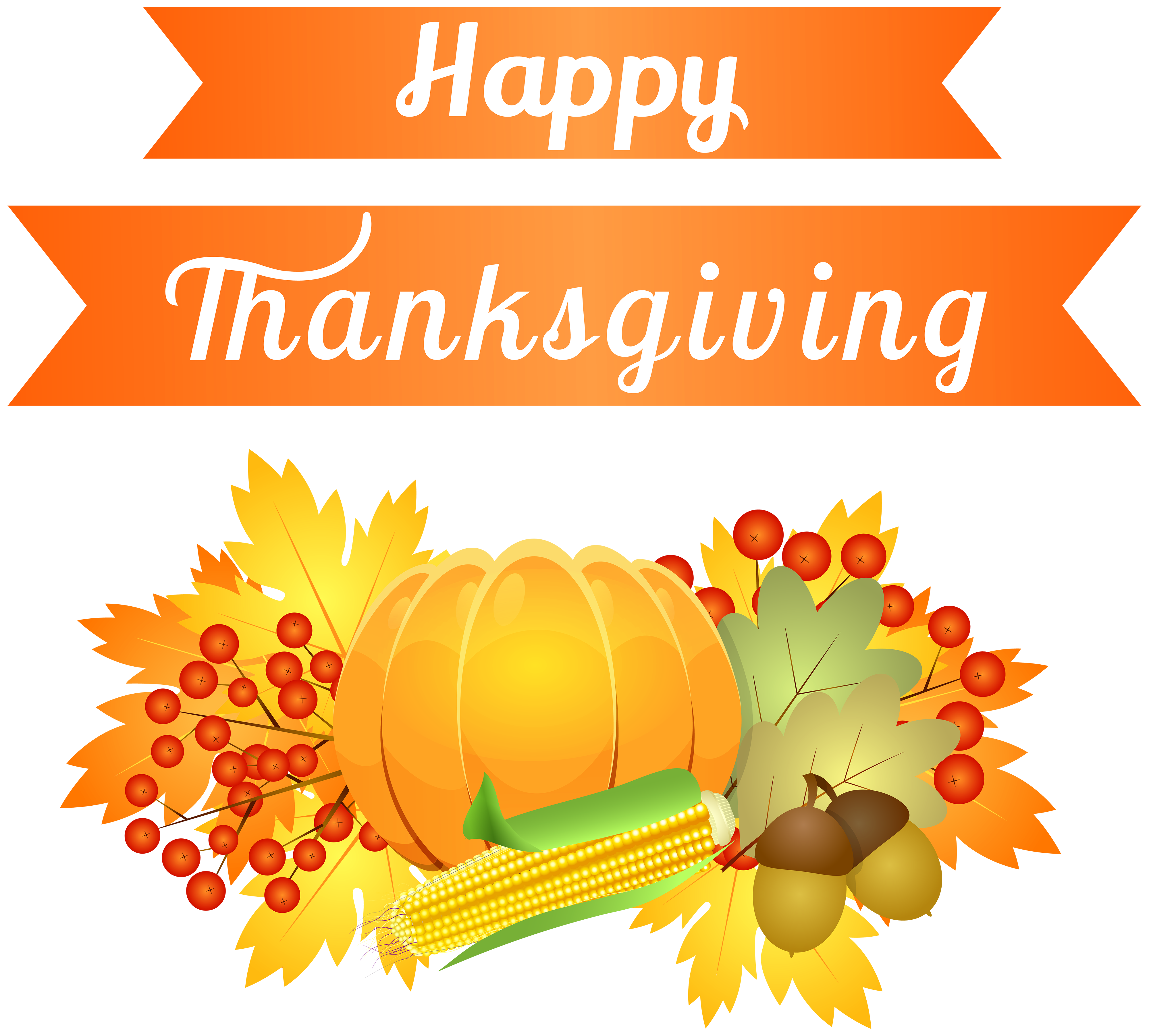 Thanksgiving .png. Happy decoration png image