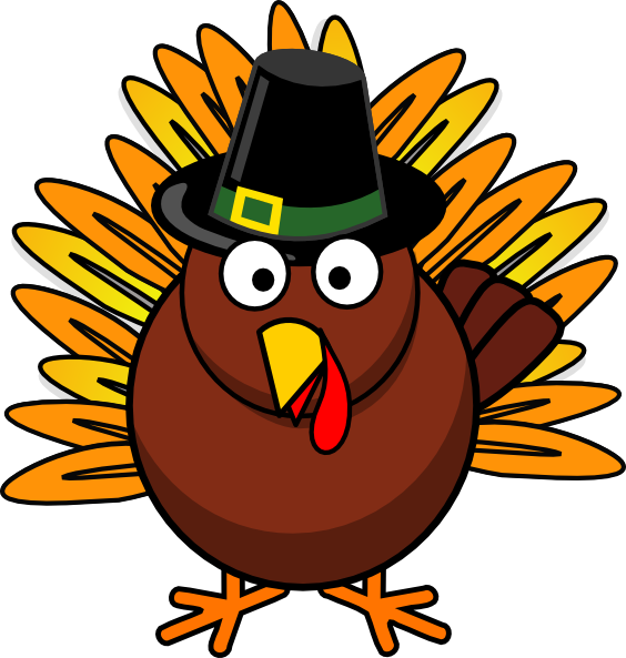 Happy thanksgiving turkey png. Clipart
