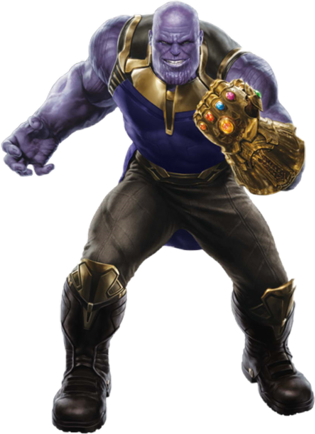 Thanos clipart. Sticker by black knight