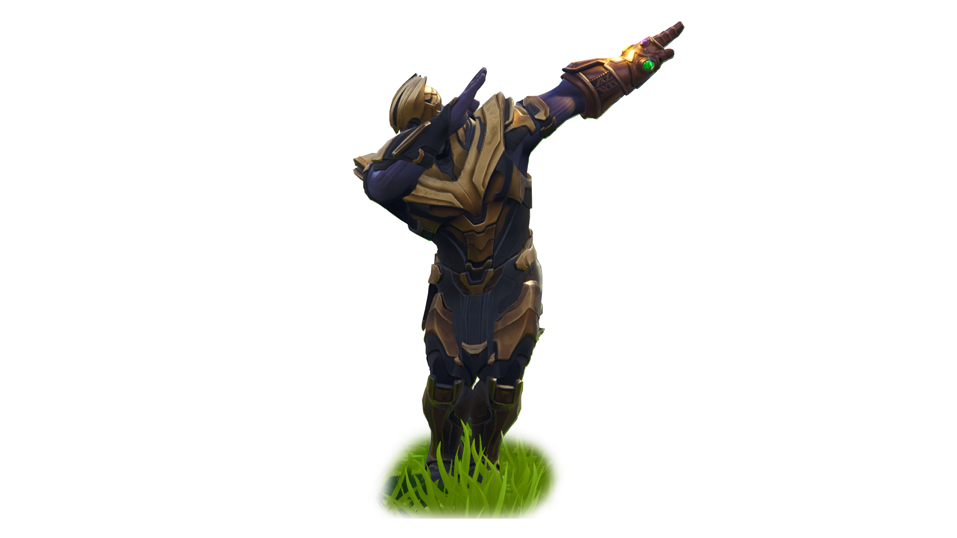 Thanos clipart animated. Fortnite dab png image