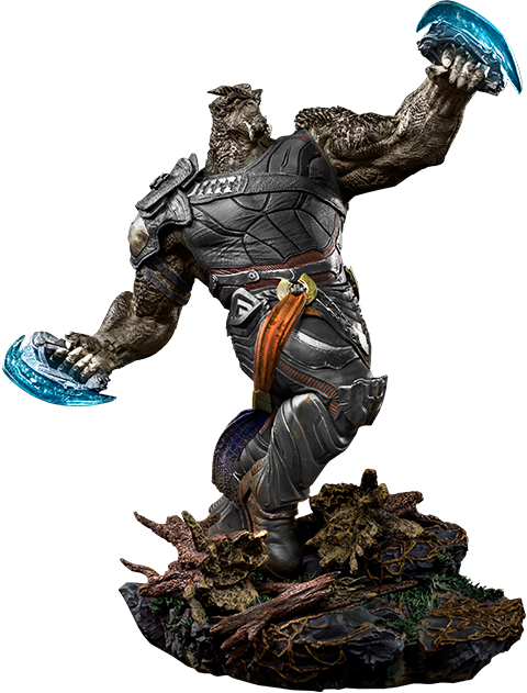 Thanos clipart cut out. Cull obsidian statue sideshow
