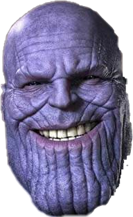 Thanos clipart face. Popular and trending stickers