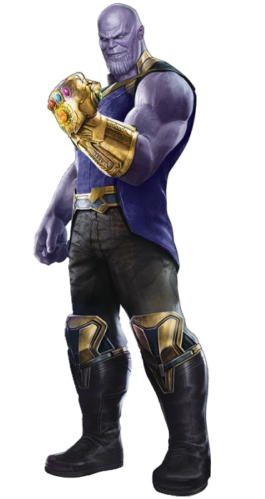 Thanos clipart full body. Transparent background huge