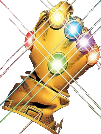 Thanos clipart infinity gauntlet. The canon paleomario character