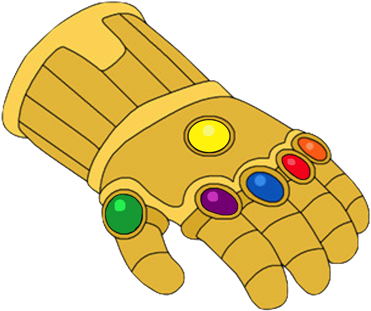 Thanos clipart infinity gauntlet. Yuna s princess adventure