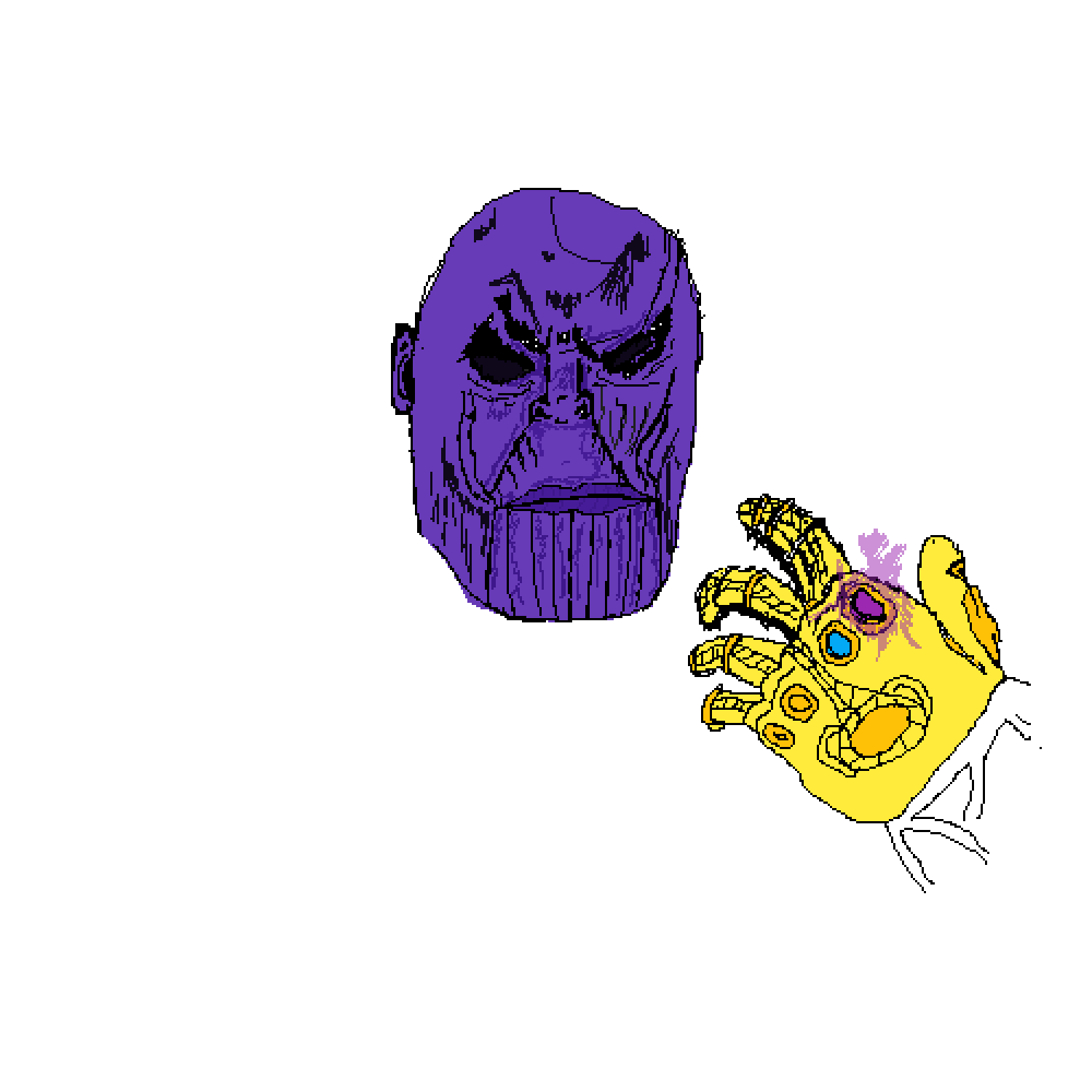 Thanos clipart simple drawing. Infnity infinity contest rough