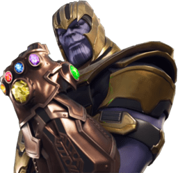 Thanos clipart transparent. Fortnite png stickpng download