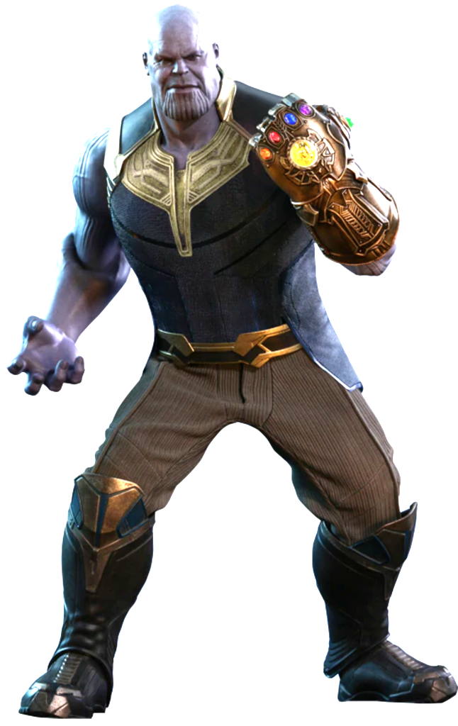 Thanos clipart sixth scale. Figure by hot toys