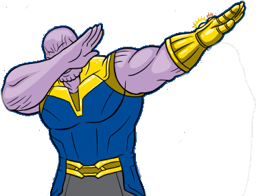 thanos png animated