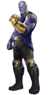 Thanos clipart. Download full transparent png