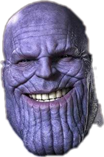 Popular and trending stickers. Thanos head png png transparent library