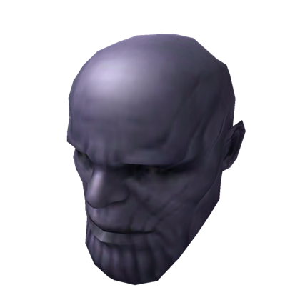 Big roblox . Thanos head png image free download