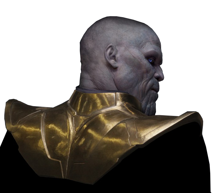 Thanos head png. Marvel cinematic universe k