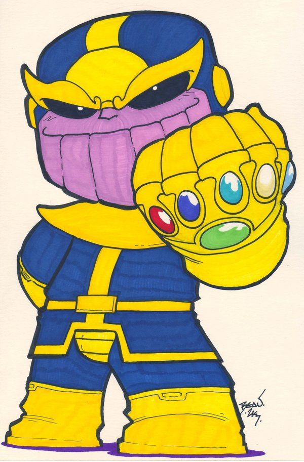 Thanos png chibi. By hedbonstudios on deviantart