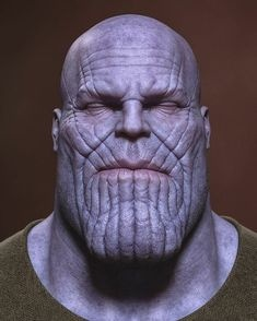 Thanos png face. What are the three