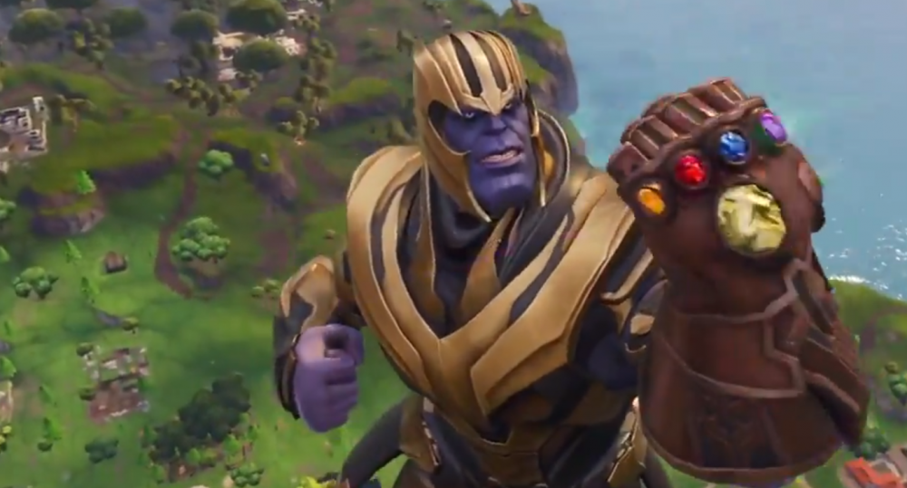 Thanos png fortnite. Enters with the infinity