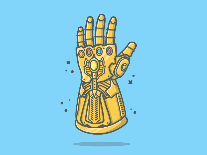 Thanos png hand.