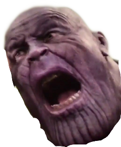 Thanos png head. Popular and trending stickers