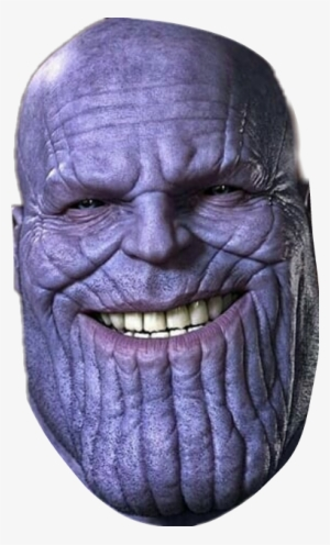 Thanos png head. Transparent image free download