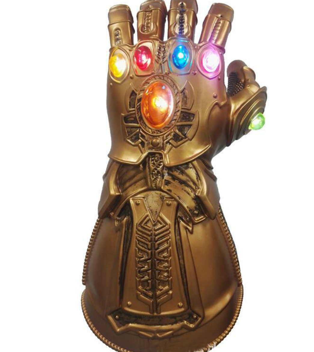 Thanos png infinity gauntlet. Avengers war led light