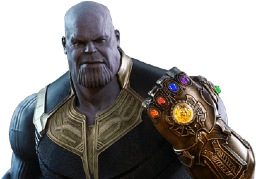 Thanos png infinity war. Image with transparent background