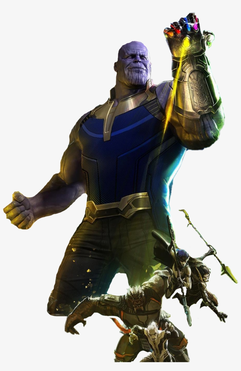 Thanos png infinity war. Avengers outfit
