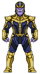 Thanos png pixel. By alexmicroheroes on deviantart